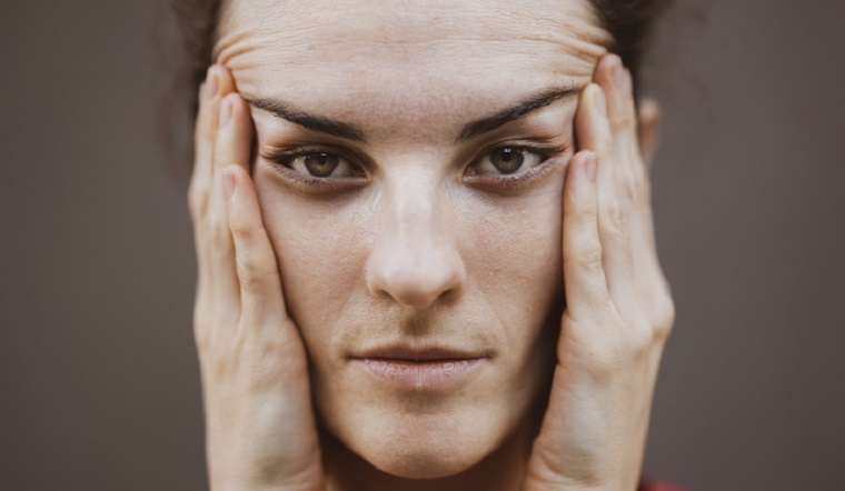 Woman Face Image
