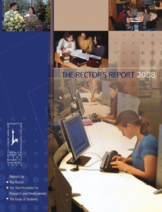 Rectors Report 2008