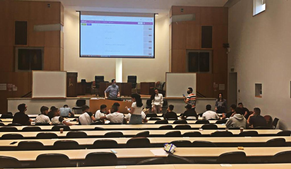Photo of lecture