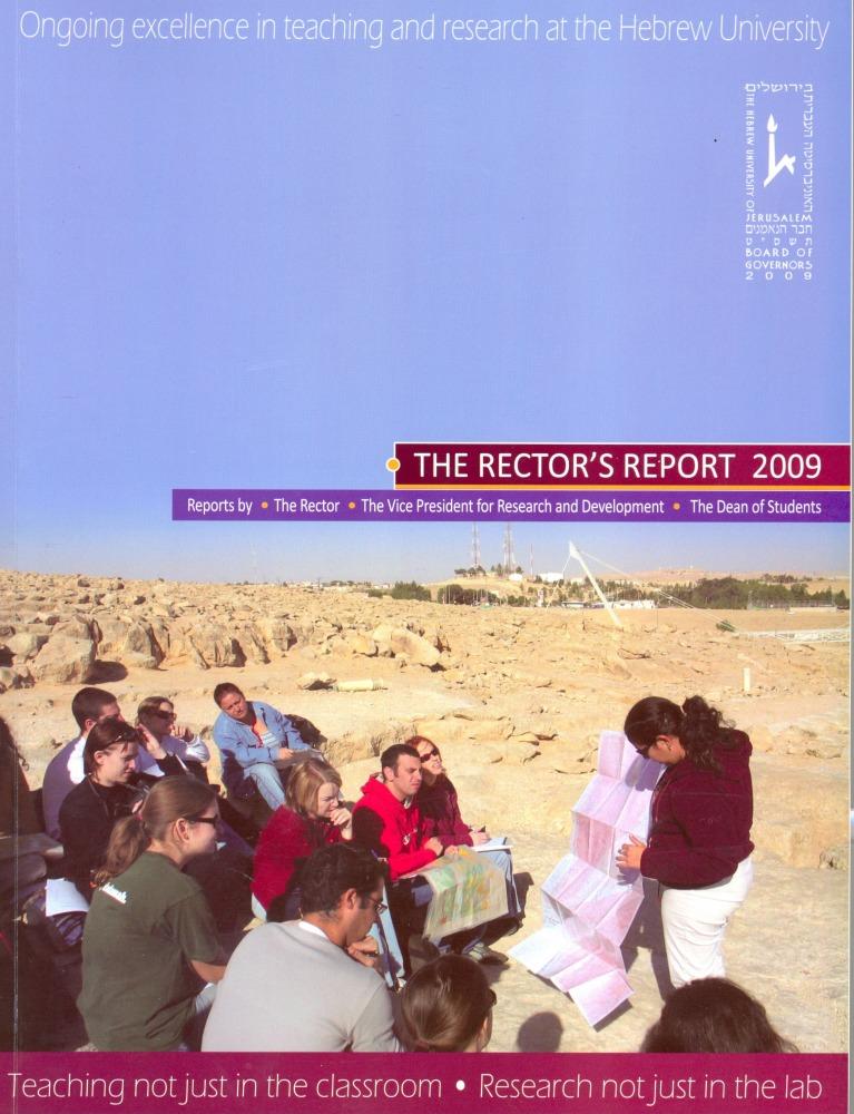 Rectors Report 2009